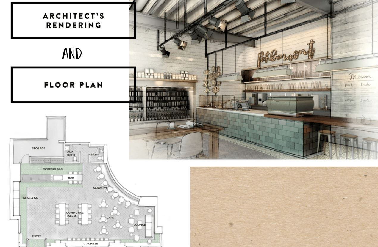 Parliament Espresso Coffee Bar - Architect Renderings