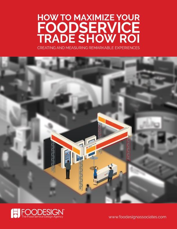 foodservice trade show marketing ROI